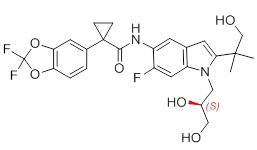 Tezacaftor enantiomer