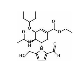 Oseltamivir 5-Desamino 5-(2-Formyl 5-Hydroxymethyl pyrrol-1-yl)